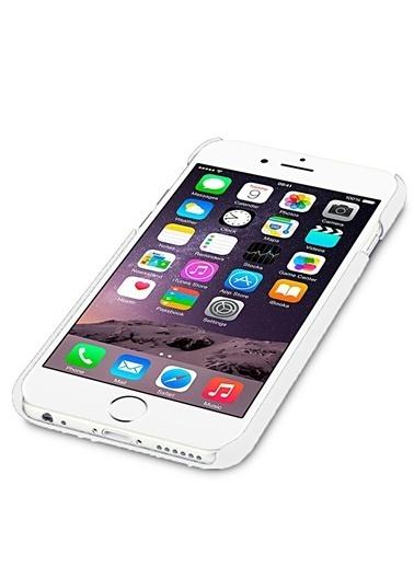 Microsonic Premium Slim iPhone  6 (4.7'') Kılıf Beyaz Renkli